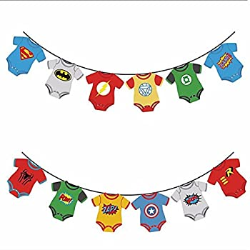 Best superhero baby shower decorations Reviews