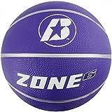 Baden Women's Zone Rubber Basketball, Indoor and Outdoor Ball, Purple, Size 6