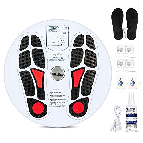 Circulation Promoter, Electric Foot Massagers Machine, 5 Strength Adjustment + 3 Timing Modes, Improves Circulation, Reduces Swelling, Alleviates Feet and Leg Pain, for Mothers Day Gifts