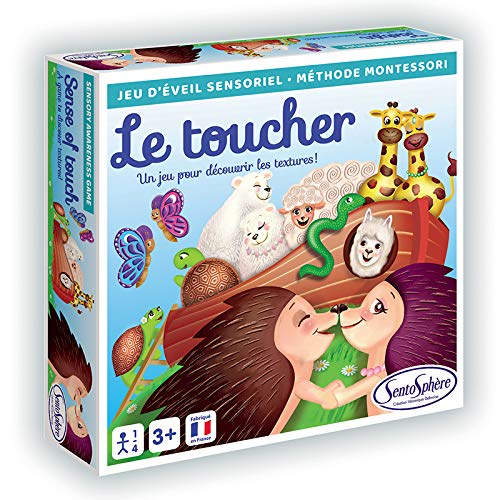 Sentosphère- Jeu sensoriel Le Toucher, 137, Multicolore