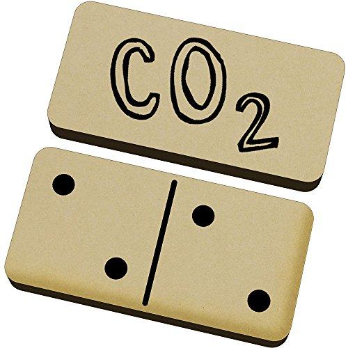 Azeeda 'CO2' Domino-Spiel und Box (DM00007267)