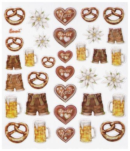 Hobby-Design Sticker Bier-Feste, bunt
