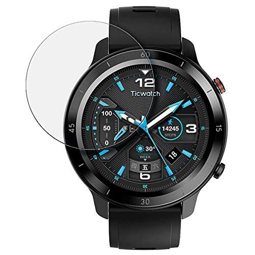 disGuard Mobvoi Ticwatch GTX - Protector de pantalla antirreflectante (2 unidades)