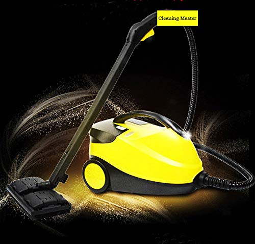 Big Save! INTBUYING High Pressure Steam Cleaner Lampblack Car Wash Floor Carpet Steam Cleaning Machi...