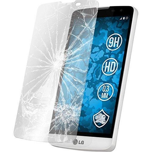 PhoneNatic 1 x Glas-Folie klar kompatibel mit LG L Bello - Panzerglas für L Bello
