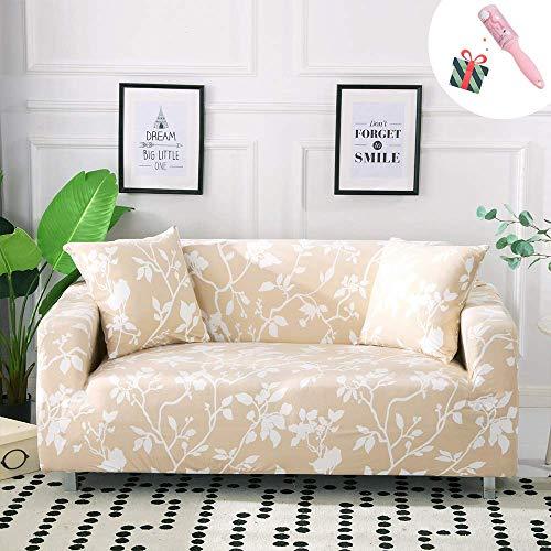 Fundas de sofá estampadas para sofá de tela elástica elástica para mascotas, funda antideslizante para sofás de cuero, decoración del hogar