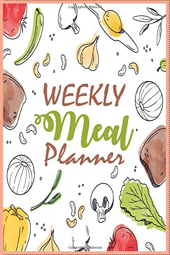 Weekly Meal Planner: A Journal for Planning Healthy Meals for You or Your Family: 100 Week Menu Planning / Calendar with Grocery Shopping Lists.