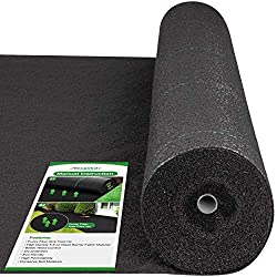 top 10 weed barriers Amagabeli 4ft x 300ft Crop Weed Control Towel Landscape Towel 5.8 oz. Heavy Duty Soil Weed Control Towel …
