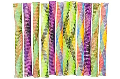 Schnooridoo 12 x Multicolor Hüpfröhre Springstab Hüpfer Kindergeburtstag Mitbringsel Give Away