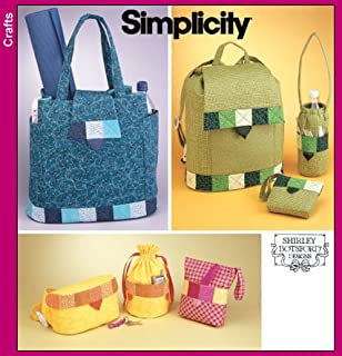 Simplicity 5320 Sew Pattern FAT QUARTER BAGS Back Pack, Fanny Pack & More!