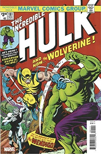 Incredible Hulk, The #181B VF ; Marvel comic book