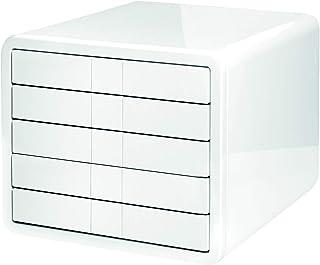 HAN Module de classement i-Box – Module haut de gamme avec 5 tiroirs pour formats papier jusqu´au A4/C4. Le module design ...