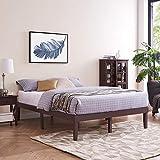 Naomi Home Isabella Wood Platform Bed Queen/Espresso