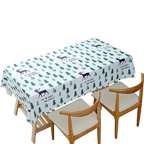 テーブルクロス 撥水加工 PVC製 汚れ防止 無地 テーブルマット 食卓カバー 北欧風 長方形 正方形 家庭用 業務用