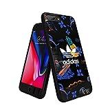 アディダスオリジナルス iPhone6Plus/6SPlus/7Plus/8Plusケース アイランドシリーズ TPUケース ブラック [adidas Originals Beach Snap Case iPhone 6+/6S+/7+/8+]