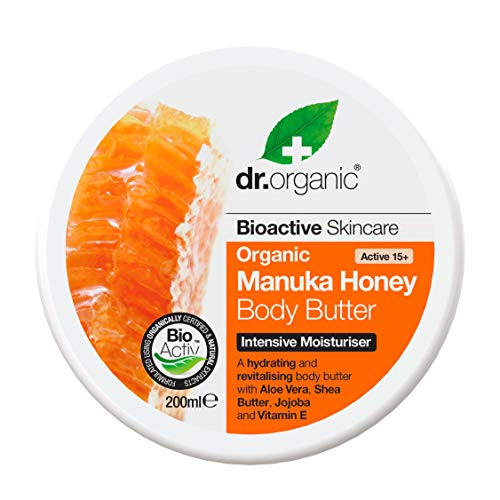 Dr. Organic Manuka Honey Buerre pour le Corps 200 ml