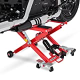 ConStands Motorcycle Jack Scissor Hydraulic Lift XL red