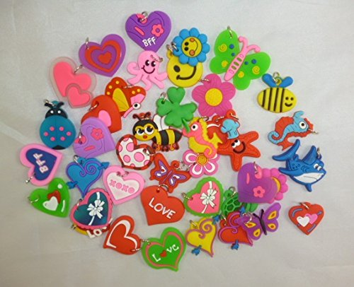 40 Assorted Charms For Loom Band Bracelets - Loom Bands Accessories