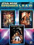 Star Wars Episodes I, II & III Instrumental Solos: Alto Sax, Book & CD