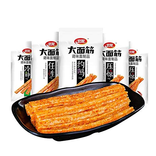 WeiLong Latiao Damianjin Spicy Package卫龙èVery Raleigh Mall popular Gluten New