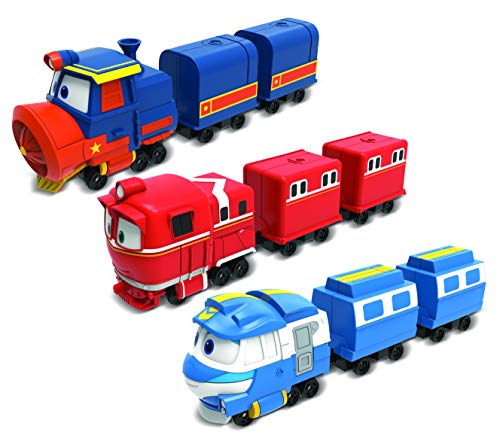 Robot Trains – Mini Tren Kay o Victor o Alf – Modelo Aleatorio – 17 cm – Juguete materno