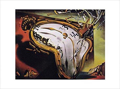 1art1 Salvador Dali Poster Reproduction - Les Montres Molles (80 x 60 cm)