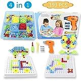 PL Juguetes Montessori 3D Puzzle 3 4 5 Años-193 Piezas Rompecabezas Bloques...