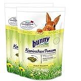2 x 4 kg = 8 kg Bunny Kaninchen Traum Basic mit 42 verschiedenen Grünpflanzen