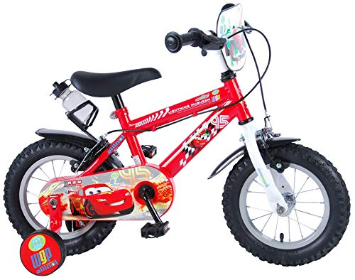 Disney Cars Kinderfiets - Jongens - 12 inch - Cars - 2 handremmen