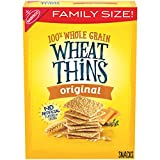 Wheat Thins Original Whole Grain Wheat Crackers, Family Size, 16 oz
