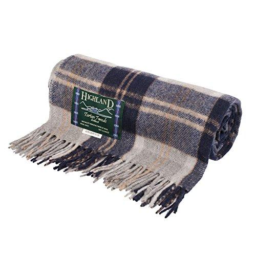 Highland - Manta Mezcla de Lana Escocesa