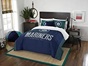 Featured in team color with embroidered MLB team logo; black center inset web loops; grey polyester piping Three large main compartments; abrasion resistant bottom panel with padding; padded laptop compartment; interior organizational pockets; hi-den...