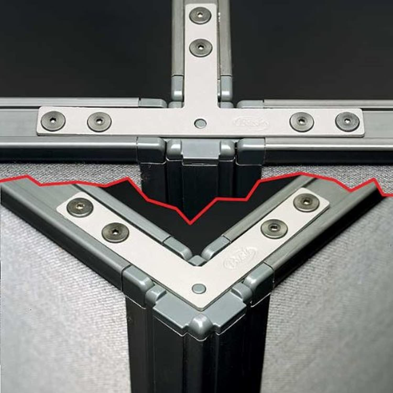 ProPanels - 2 Way or 3 Way Connector (for 42H Panels) in Slate