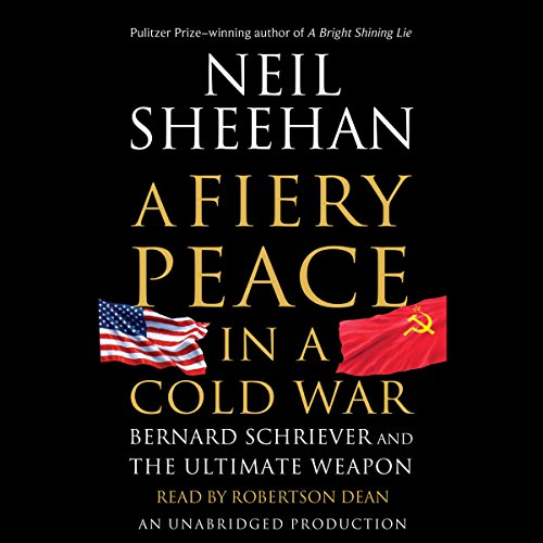 A Fiery Peace in a Cold War audiobook cover art
