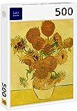 Lais Puzzle Vincent Willem Van Gogh - Naturaleza Muerta con Girasoles 500 Piezas