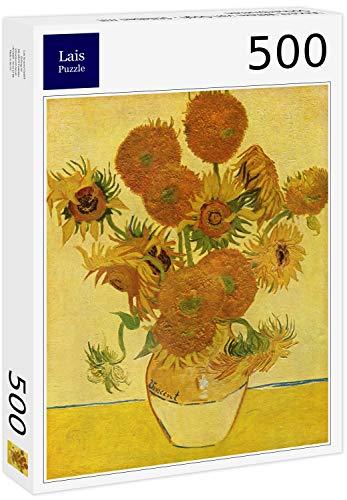 Lais Puzzle Vincent Willem Van Gogh - Natura Morta con Girasoli 500 Pezzi