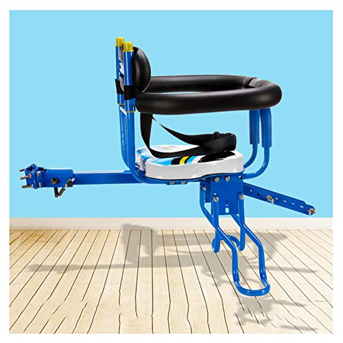 Kids Bike Seat Stadsfietsen, Frontaanbouwmachine Zadels Voor Kinderen Van 2-5 Jaar, Compatibel Met Alle Volwassen Stadsfietsen Eenvoudig Te Installeren,Blue