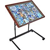 【Friendly to Back & Neck】To reduce back and neck pain occurs during puzzling, this puzzle table with legs is specially constructed based on Ergonomics, so that it can better provide a comfortable position for puzzle lover.Imagine sitting with your ba...