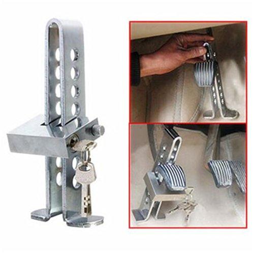 Diebstahlsicherung für Auto, Bremse, Kupplung, Sicherheitsschloss, Werkzeug aus Stahl, Verriegelung
