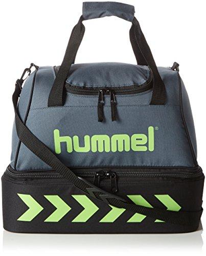 Hummel Authentic Soccer Bag Sporttasche Fußballtraining, Größe:S, Farbe:grün, 42x27x37cm, 35,5 Liter