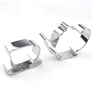 GXHUANG Tea Pot Cup Cookie Cutter Set - Stainless Steel (Pot and Cup)