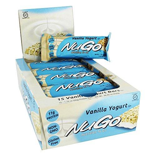 NuGo Nutrition NuGo Nutrition to Go Vanilla Yogurt - 11 g - 15 Bars