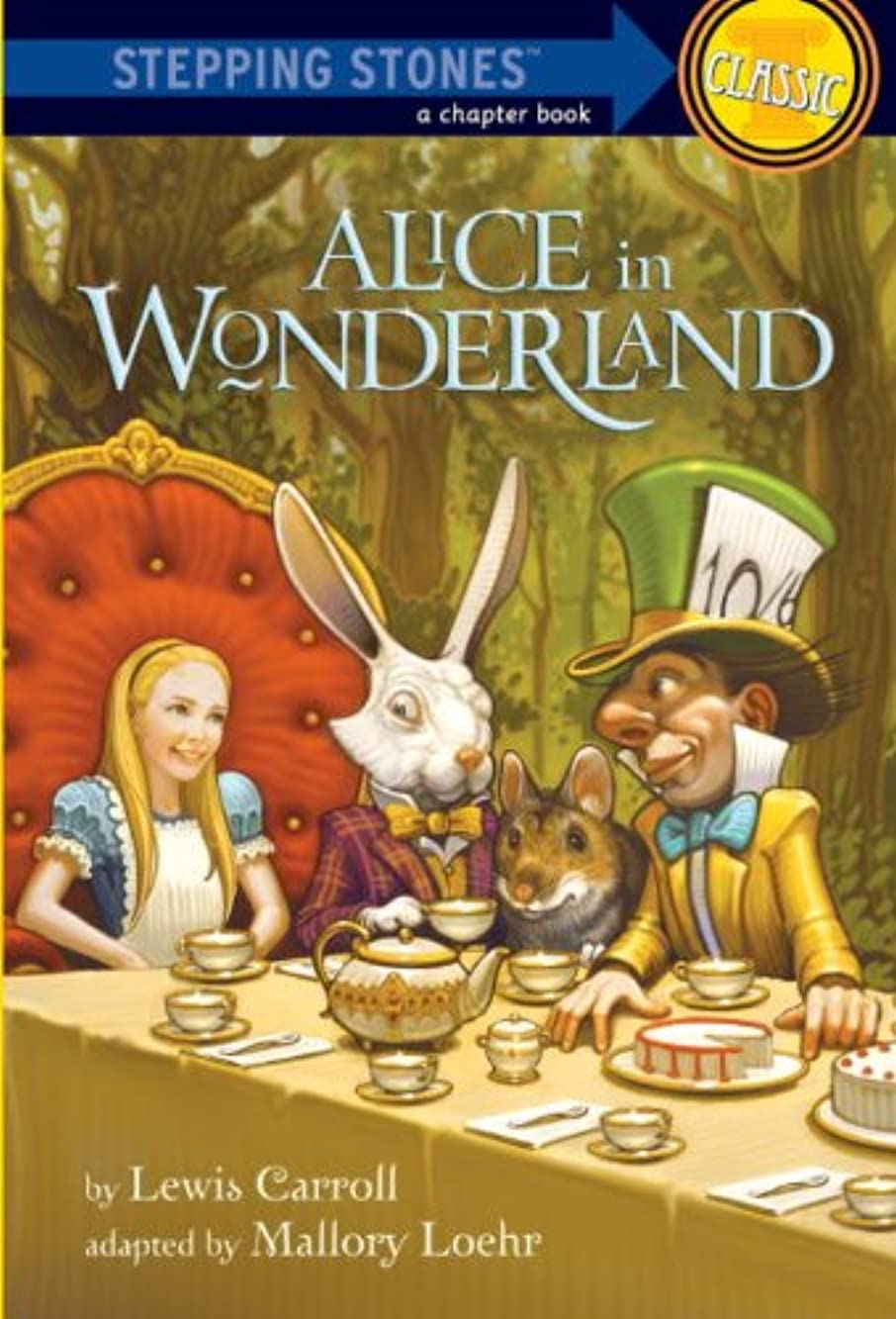 ダム責居間Alice in Wonderland (A Stepping Stone Book(TM)) (English Edition)