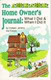 The Home Owner's Journal, Third Edition