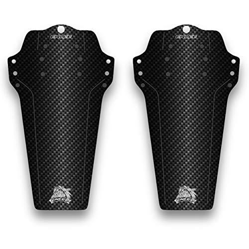 Kit guardabarros compatible con todas las bicicletas, accesorio para bicicleta 29 28 27,5 26 24 20 pulgadas de protección de la horquilla delantera cuadro trasero, equipo de bicicleta de montaña
