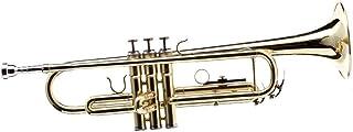 Sai Musical Trump Bb Brass Golden - with Case Mouthpiece - ساز زیبا برای دانش آموزان مبتدی حرفه ای