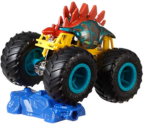 Hot Wheels FYJ44 Monster Trucks 1:64 Scale Die-Cast Assortment with Giant Wheels,Assorted (Model/Design/Style)