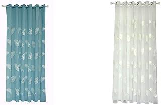 Amazon.fr : rideau chambre fille - Bleu / Rideaux / Accessoires et ...