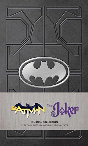 DC Comics: Character Journal Collection: Batman and Joker: Set of 2
