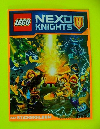 LEGO NEXO Knights - Album di adesivi (vuoto), 36 pagine per 220 adesivi, 1 pezzo